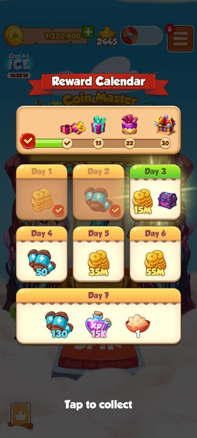 Coin master daily free spin link